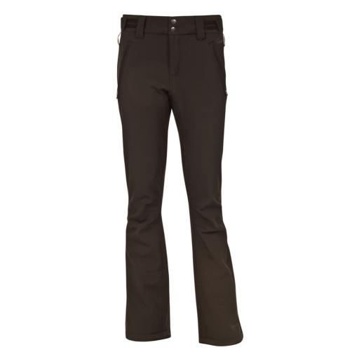 PROTEST LOLE Black Soft-Shell Ski Pants Salopettes