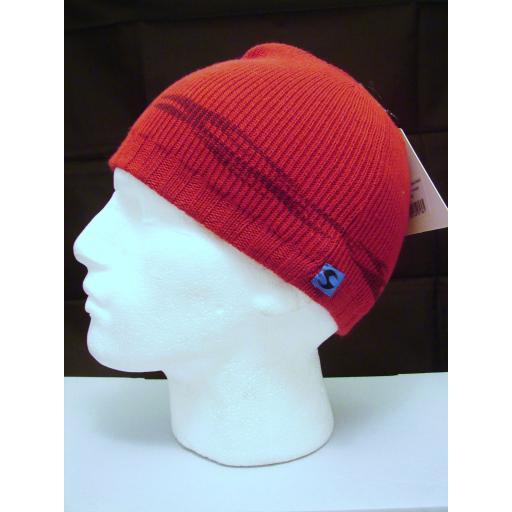 Red Soft Warm Beanie hat
