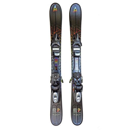 GPO FUSION 99cms Adult Ski blades with Tyrolia Bindings