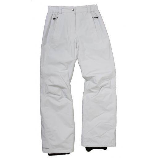 ICE PEAK Carlon OFF WHITE Girls Ski Salopettes Pants