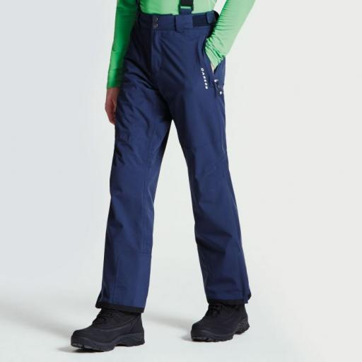 Dare2b Certify II Outerspace BLUE Ski Pants Salopettes