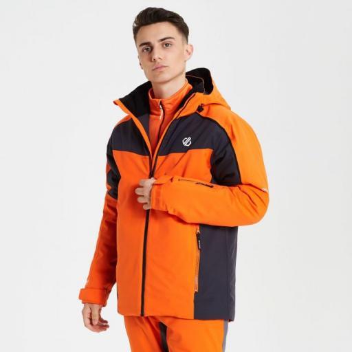 DARE2B INTERMIT Mens Ski Board Jacket CLEMENTINE ORANGE
