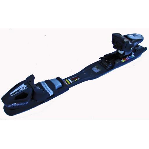 Tyrolia SP12 SYMPRO RENTAL ski bindings set includes 78MM or wide 88mm ski brake