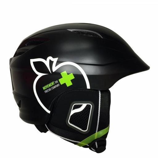 Movement ICON Ski Crash Helmet BLACK Sizes: M-L