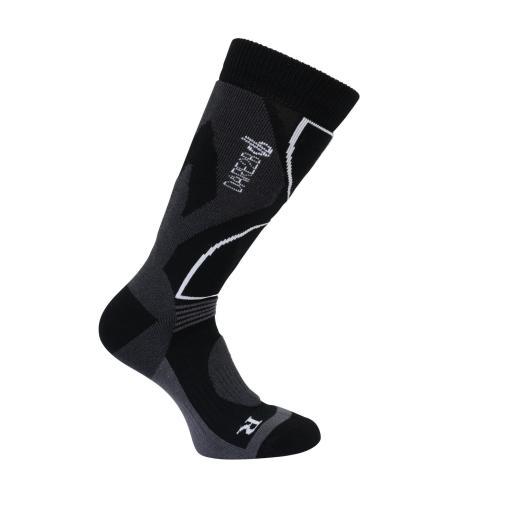 Dare2b Men's CONSTRUCT Black Technical ski sock Sizes 6-8, 9-12