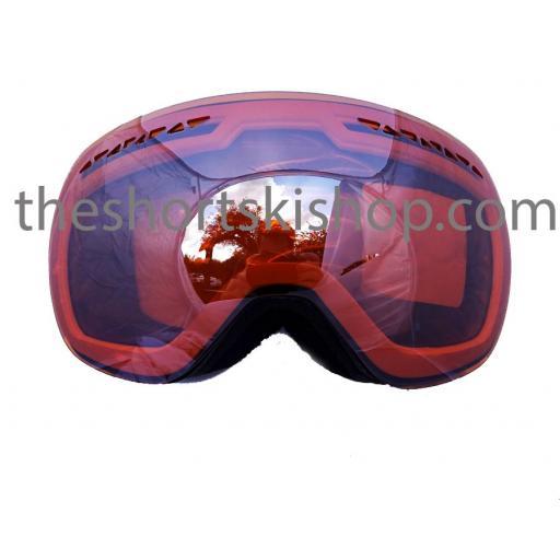 Dare2b LIBERTA Double lens Ski Snowboard goggle WHITE/BLACK CAT S2