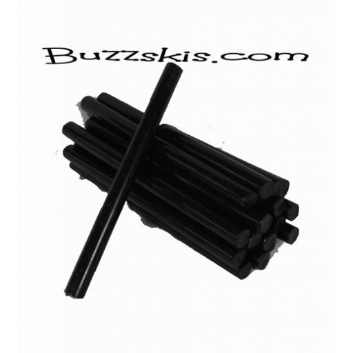P-Tex base repair candle sticks x 5 sticks (BLACK OR CLEAR) FREEPOST UK