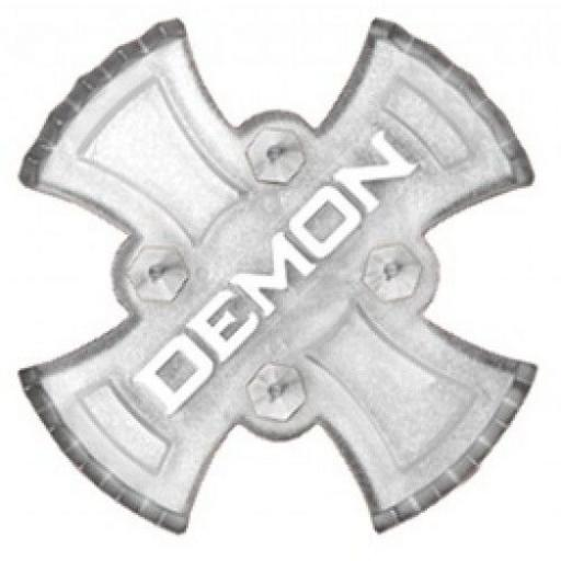 """Demon Stomp pad """"Zeus"""" for Snowboard CLEAR"""