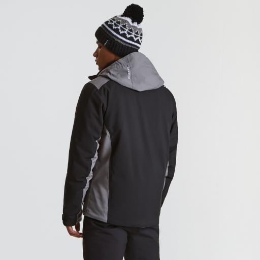 DARE2B VIGOUR Mens Ski Board Jacket in BLACK