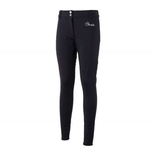 Womens DARE2B SHAPELY Black Skinny Stretch Winter Trousers Pants SHORT LEG