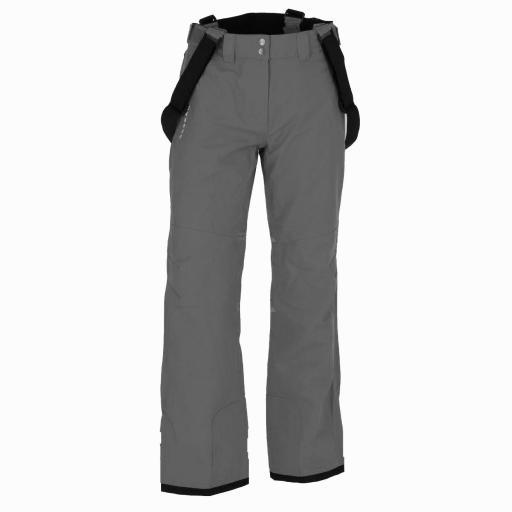 Dare2b GREY Certify II Stretch Ski Salopettes Pants SHORT LEG