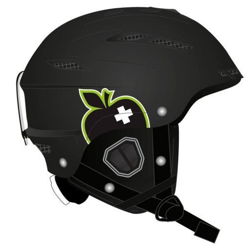 Movement BIG A Ski Crash Helmet BLACK Sizes: M-L-XL-XXL