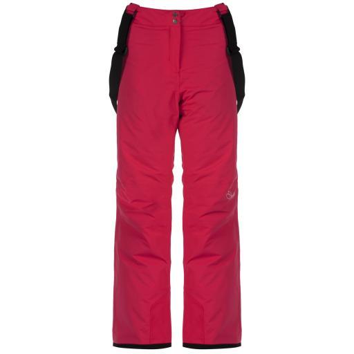 Dare2b ATTRACT II Womens DUCHESS PINK Ski Pants Salopettes SHORT LEG