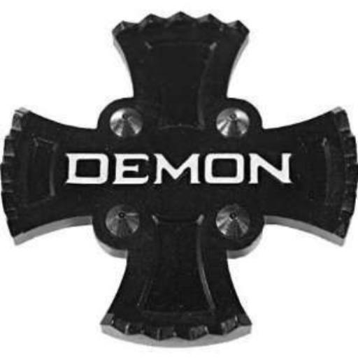 "Demon Stomp pad ""Zeus"" for Snowboard BLACK"