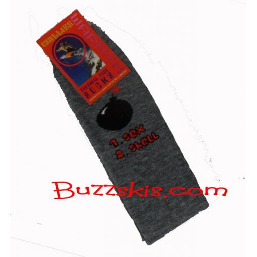 3 X PATTERNED SKI TUBE socks 60cms ADULT (3 PAIR PACK) Freepost UK