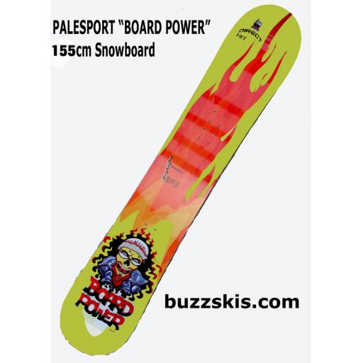 Palesport BOARD POWER 155CMS snowboard rrp £300 NOW £99.99