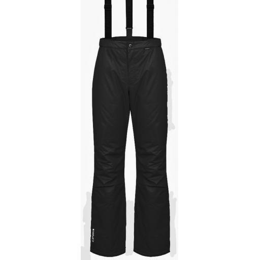 ICE PEAK Womens TRUDY BLACK Salopettes Ski Pants