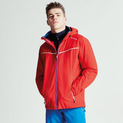 DARE2B VIGOUR Mens Ski Board Jacket CODE RED