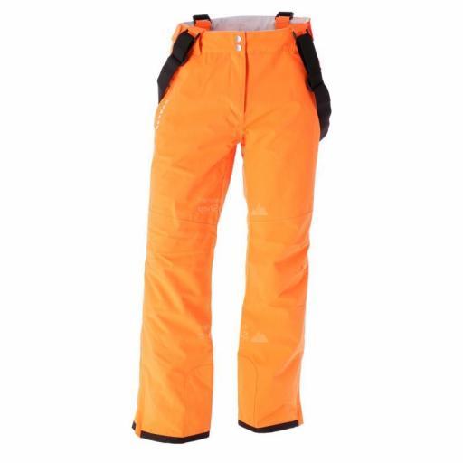 Dare2b CERTIFY II VIBRANT ORANGE Salopettes Ski Pants SHORT LEG