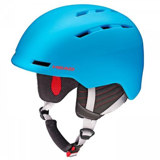 HEAD VICO BLUE Size M-XXL 56-62CMS Ski Snowboard Helmet