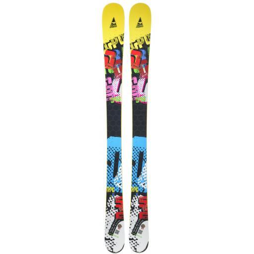 "GPO Short Rocker ""JAM"" 130cms Adult Short skis with Tyrolia Bindings"
