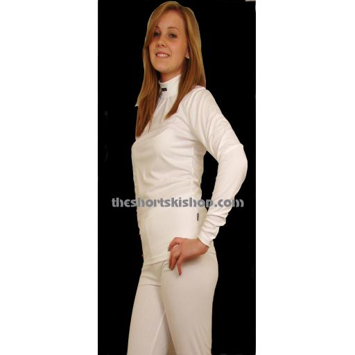 Girls Five Seasons Childrens THermal base layer set WHITE SIZES 11/12 AND 13/14 YRS