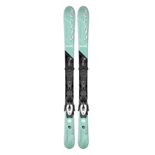 SPORTEN WOLFRAM LE 112 cm Adult Short skis with bindings
