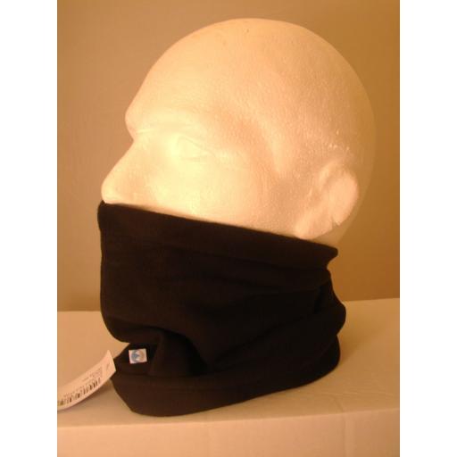 Black Neck Fleece Warm and Soft