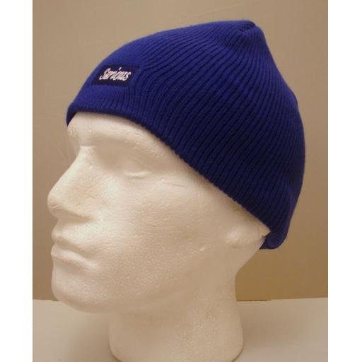 Beanie style Royal Blue HAT Warm and soft
