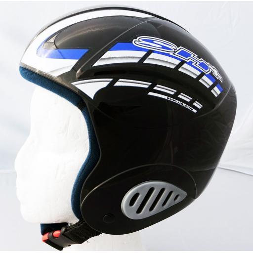 """SH+ """"EX1 PRO"""" Childs/Youth Ski Crash Helmet BLACK XXS-XS-S-M 51-58CMS"""