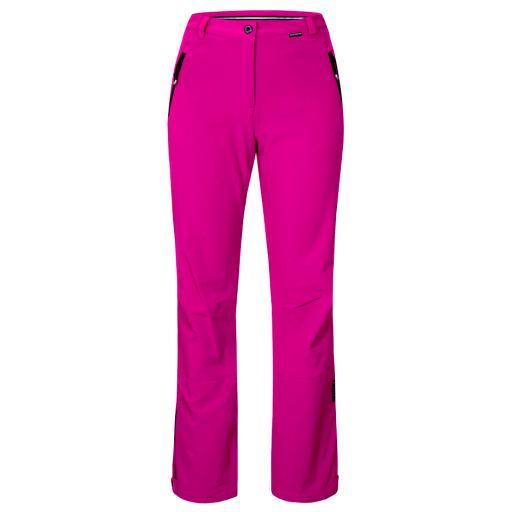 ICE PEAK HOT PINK Womens RIKSU Stretch Ski Pants Trousers REG