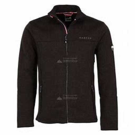 DARE2B Mens Sweater Bequeath Black top Fleece