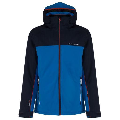 DARE2B REQUISITE Mens Ski Board Jacket AIRFORCE BLUE plus size