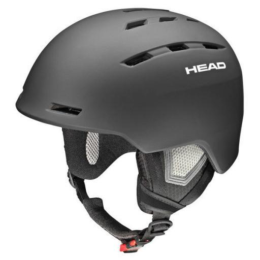 HEAD VARIUS BLACK Sizes M/L, XL/XXL upto 63cms Ski Snowboard Helmet