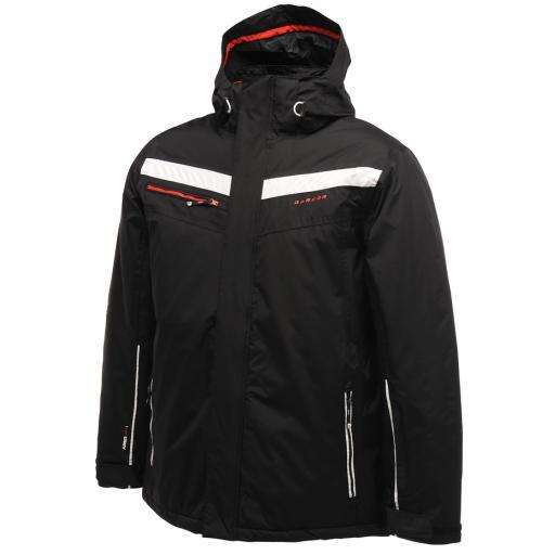 DARE2B ASSERT Mens Ski Board Jacket BLACK