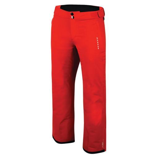 Mens Dare2b PROFUSE II SEVILLE RED Salopettes Ski Pants REG LEG