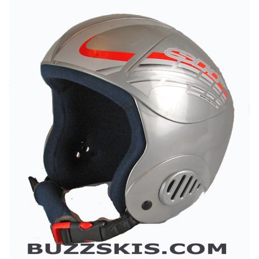 "SH+ ""EX1 PRO"" Childs/Youth Ski Crash Helmet Silver size Small"