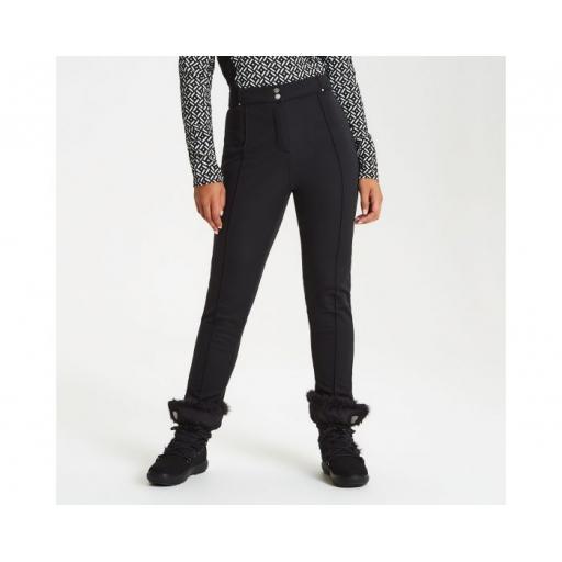 Womens DARE2B SLENDER BLACK High Skinny Stretch Winter Trousers Pants