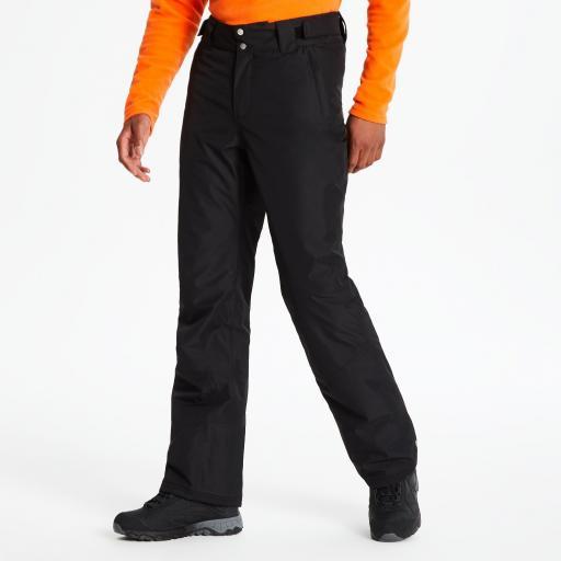 Dare2b IMPART Mens BLACK Ski Board Salopettes Pants SHORT LEG