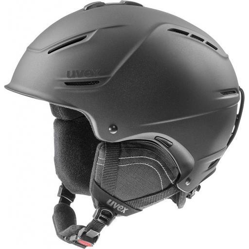 Uvex P1US 2.0 Ski helmet BLACK Met Sizes M /L, L/XL