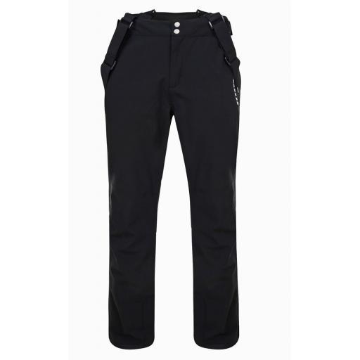Mens Dare2b BLACK Certify II Soft Shell Ski Salopettes Pants SHORT LEG