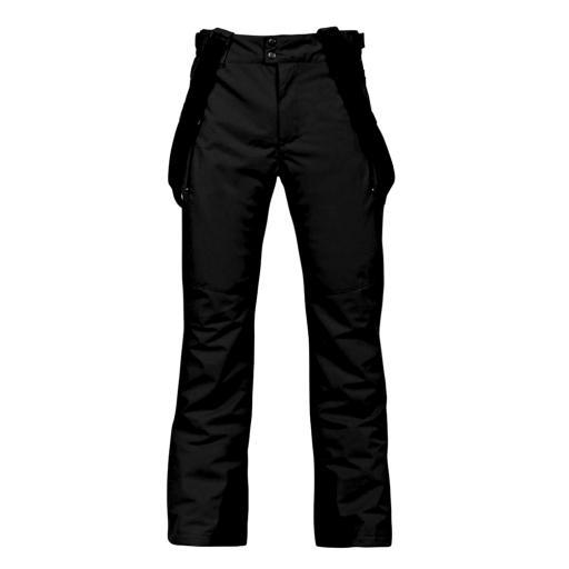 Mens Dare2b PACESETTER PRO BLACK Salopettes Ski Pants SHORT LEG