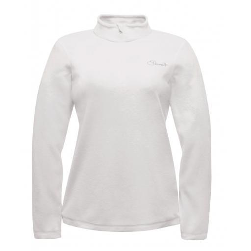 DARE2B Womens WHITE LOVELINE III Mid layer top Sizes 8 - 14