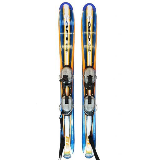 GPO RACER 99 SKI BLADE Mini Skis with NON RELEASE Bindings