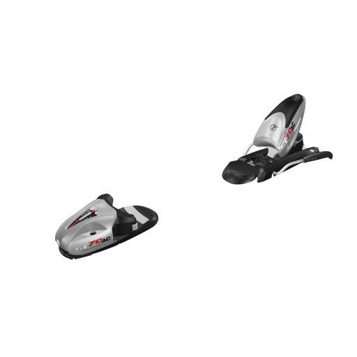 Tyrolia SL70 ski bindings with ski brake NEW perfect for kids/teens and lighter adults