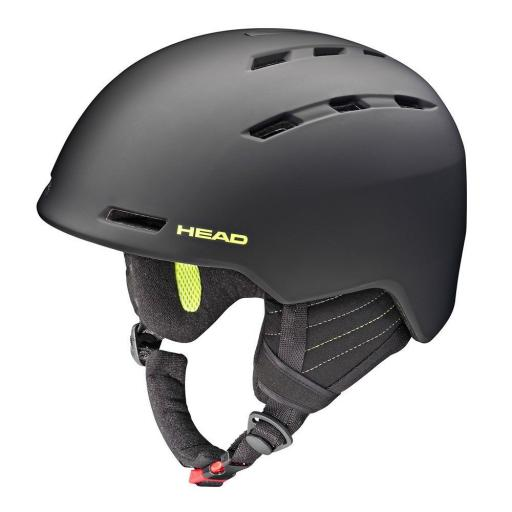 HEAD VICO BLACK Size M-XXL 56-62CMS Ski Snowboard Helmet