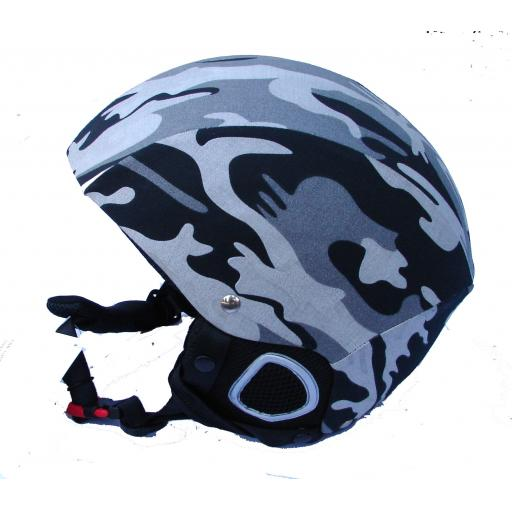 Whiterock SKI Crash Helmet Arctic Camo size Medium