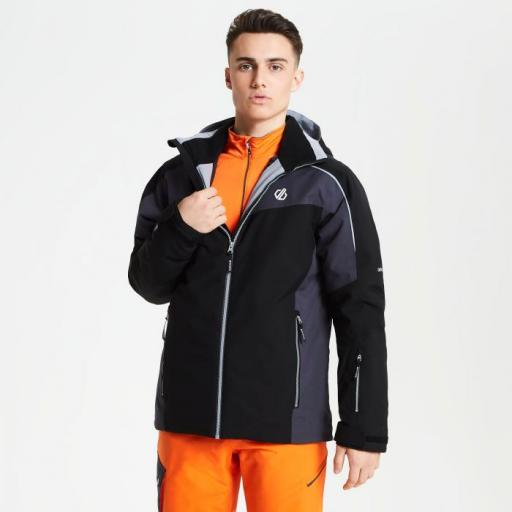 DARE2B INTERMIT Mens Ski Board Jacket BLACK/EBONY