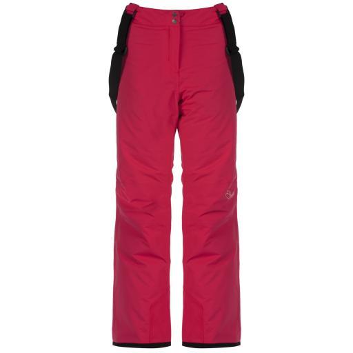 Dare2b ATTRACT II Womens Ski Pants Salopettes DUCHESS PINK SHORT LEG