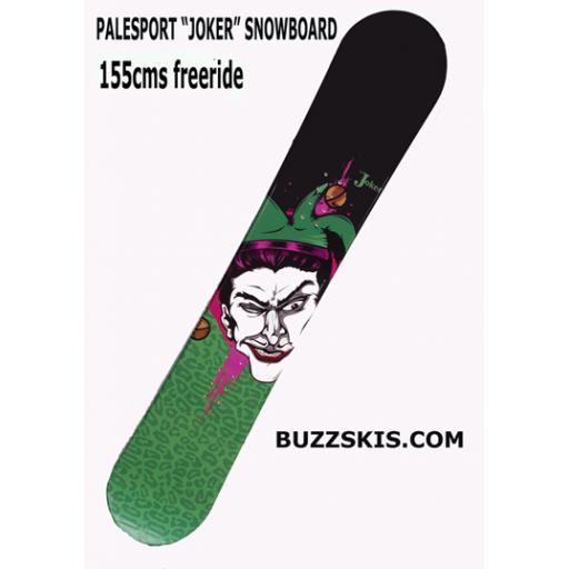 Pale JOKER snowboard 150/155 cms RRP £265 from £99.99